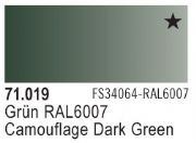 Model Air - Camouflage Dark Green 019 <br>Vallejo71019